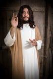 Jesus Christ predika Royaltyfria Foton