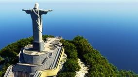 Jesus Christ the redeemer. In Rio Stock Photo