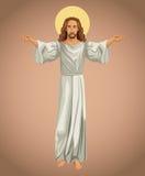 Jesus christ religious image Royalty Free Stock Photography