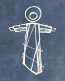 Jesus Christ Resurrection imagem de stock