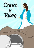 Jesus Christ is risen Royalty Free Stock Photos