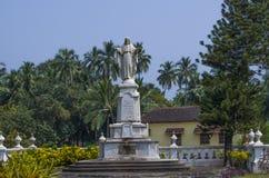 Jesus Christ's statue stock image
