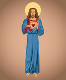 Jesus christ sacred heart hope Royalty Free Stock Photography