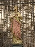 Jesus Christ saviour of Christians. Salvation is being saved or protected from harm or being saved or delivered from a dire situation. In christian religion Stock Images