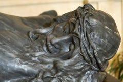 Jesus Christ Sculpture em San Nicola di Mira Cathedral em Noto - Itália foto de stock