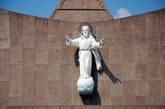 Jesus Christ. Sculpture of Jesus Christ in India Stock Images