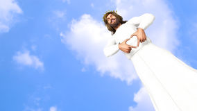 Jesus Christ is Love God is Love Illustration Royalty Free Stock Photo