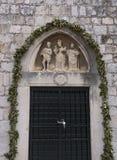 Jesus Christ, St. John the Baptist and St. Nicholas Stock Photo