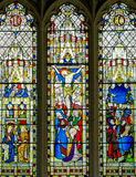 Jesus Christ Stained Glass Window Royalty Free Stock Photography