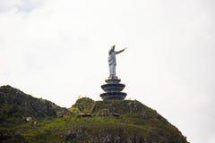 Jesus Christ Statue à la colline de Buntu Burake Photographie stock libre de droits