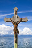 Jesus Christ Statue Stock Photo