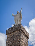 Jesus Christ Statue in Caceres, Spain stock image