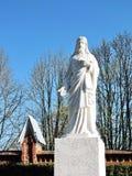 Jesus Christ-Statue, Litauen lizenzfreie stockfotografie