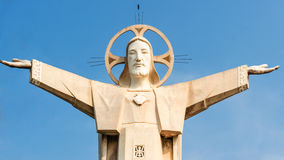 Jesus Christ-Statuen Stockfotografie