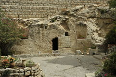 Jesus christ tomb israel Stock Images
