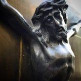 Jesus Christ Waits royaltyfria foton