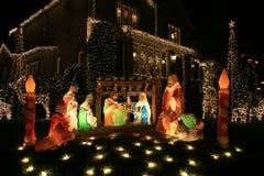 Jesus.Christmas Decoratie. Stock Afbeeldingen