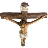 Jesus Christus auf dem Kreuz Lizenzfreies Stockfoto