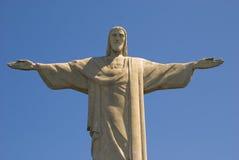 Jesus-Christus bewapent wijd open voor u? Royalty-vrije Stock Foto