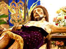 Jesus-Christus Calvario royalty-vrije stock fotografie