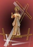 Jesus-Christus die ll doet herleven vector illustratie