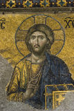 Jesus Christus in Hagia Sophia stockfoto