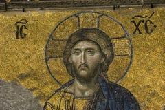 Jesus-Christus in Hagia Sophia stock fotografie