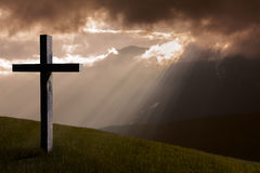 Jesus Christus-Kreuz stockfotografie