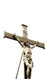 Jesus-Christus kruisigde Royalty-vrije Stock Afbeeldingen