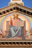 Jesus Christus-Mosaik Stockbild