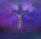 Jesus-Christus op het Kruis Royalty-vrije Stock Fotografie
