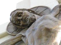 Jesus-Christus op het Kruis Royalty-vrije Stock Foto's