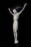 Jesus-Christus op kruisbeeld Stock Foto