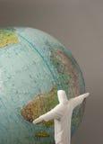 Jesus Christus-Retter der Welt, Arme heraus. Stockbilder