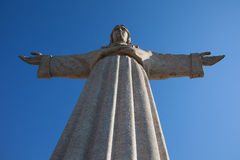 Jesus Christusdenkmal in Lissabon lizenzfreie stockfotos