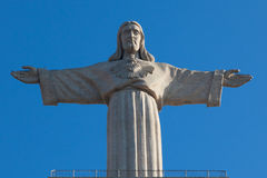 Jesus Christusdenkmal in Lissabon Lizenzfreies Stockbild
