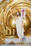 Jesus Christusskulptur in Kathedrale lizenzfreies stockfoto