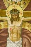 Jesus in church Stock Images