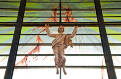Jesus in Church with God Stock Photography