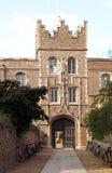 Jesus College, de Universiteit van Cambridge Stock Fotografie