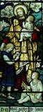 Jesus com as crianças pequenas Imagens de Stock