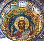Jesus com a Bíblia Fotos de Stock