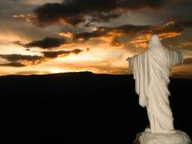 Jesus Commanding The Sun stockbild