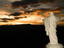 Jesus Commanding The Sun Image stock