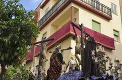 Jesus cricified Royaltyfri Fotografi