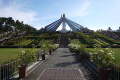 Jesus Crist in Mindanao Philippines Royalty Free Stock Image