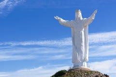 Jesus Crist-Monument Swiebodzin Polen lizenzfreies stockbild