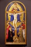 Jesus Cristo na cruz fotografia de stock