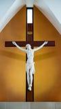 Jesus Cristo na cruz imagens de stock