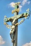 Jesus on the cross Stock Photos